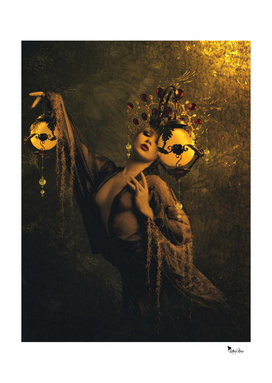 Lady of the golden lamps