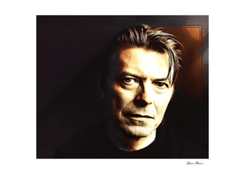 David Bowie in the Shadows