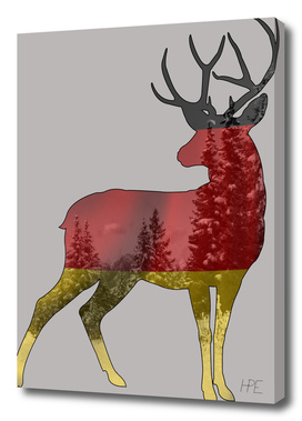 The deer of Germany
