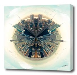 Parallel New York Cities