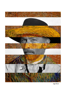 Van Gogh's Self Portrait and Lee Van Cleef