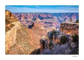 Morning at Bright Angel Trail - Grand Canyon