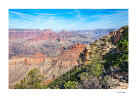 Grand Canyon view at Yaki point