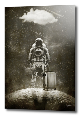 Space Traveller  sepia