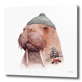 Tattooed Walrus