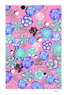 Flower Garden Pink