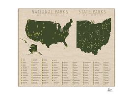 US National Parks - Ohio