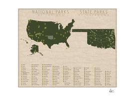 US National Parks - Oklahoma