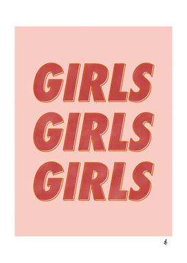 Girls Girls Girls [Red]