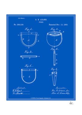 Purse Patent - Blueprint