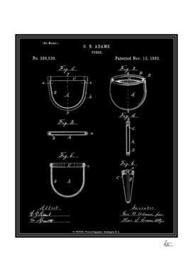 Purse Patent - Black