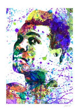 Muhammad Ali | watercolor