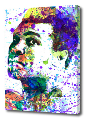 Muhammad Ali | watercolor