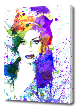 Amy Winehouse   watercolor