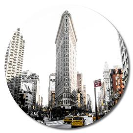 Desaturated New York