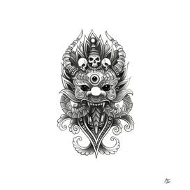 Asian Demon Mask