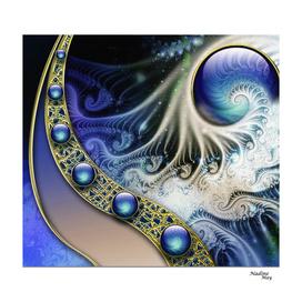Abstract fractal fantasy