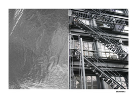 Americana - Fire Escape - Manhatten - NYC