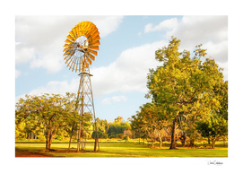 Windmills are gold in the Outback