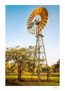 Windmill in Australian Outback at Litchfield National Park