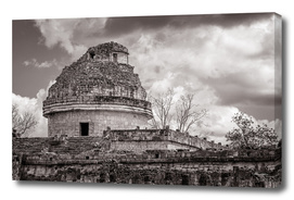 Mayan Astronomical Observatory in Chichen Itza