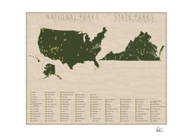 US National Parks - Virginia