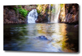 Florence Falls in Litchfield National Park, NT, Australia.