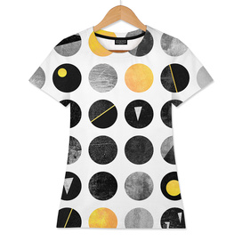 Yellow and Black dots