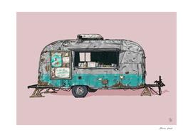 Bullet Ice Cream Caravan