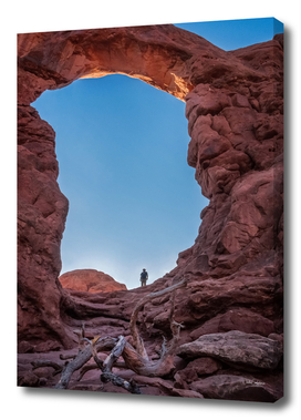 Spectacular Turret Arch Perspective