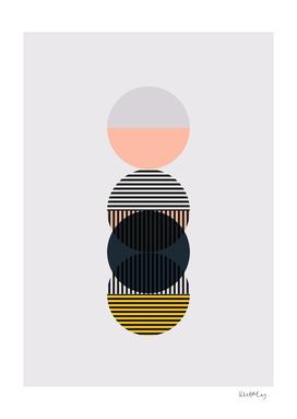 Mid Century Circles - Pattern