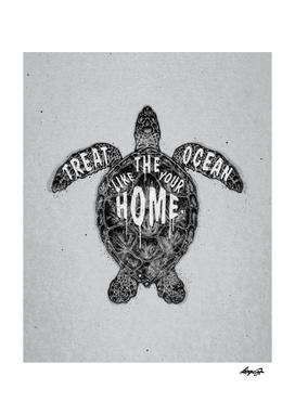 ocean omega monochrome