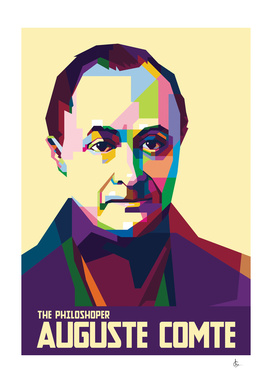 Auguste Comte in Pop Art Portraits