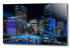 Vivid Sydney -The Blue City