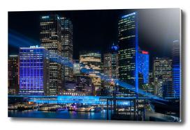 Vivid Sydney -The Blue City