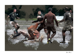 It Takes Leather Balls to Play Rugby