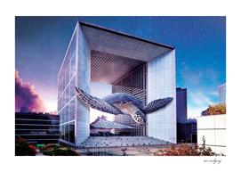 Aquarium arch