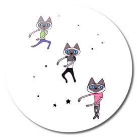 Dance Dance Dance Cat