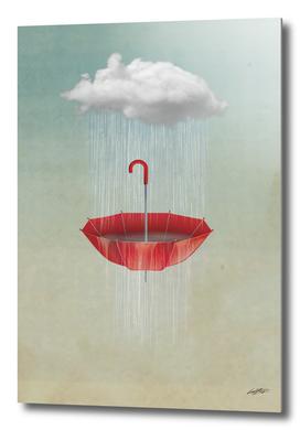 Embracing the rain '''
