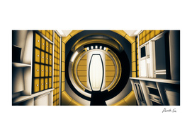 2001: A Space Odyssey Without Anyone_elevator