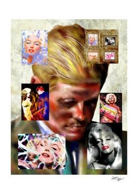 Kennedy Versus Monroe Painted