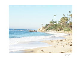 Morning Walk in Laguna Beach