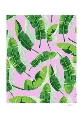 Banana Leaf  Pink