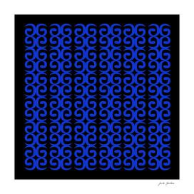 MOROCCO LUXURY BLUE BLACK