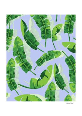 Banana Leaf Blue