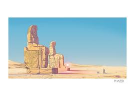 The Colossi Of Memnon
