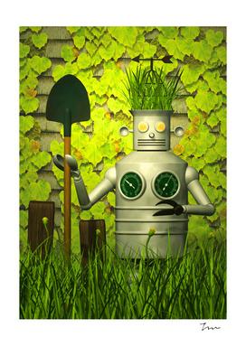 Garden Robot-01