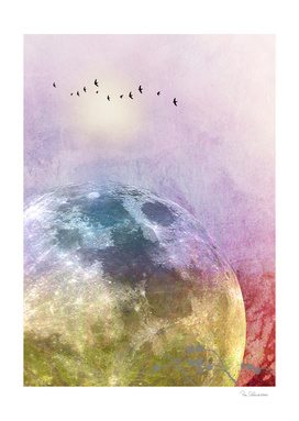 MOON under MAGIC SKY III-A