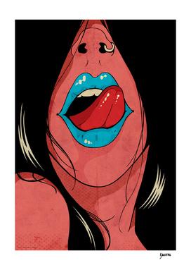 Tombo girl - Tongue