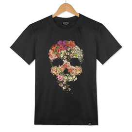 Skull Floral Decay
